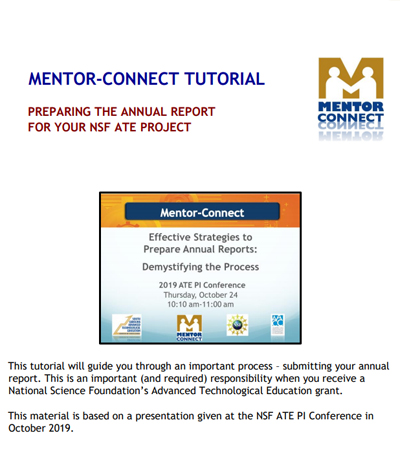 2019 Annual Report Tutorial
